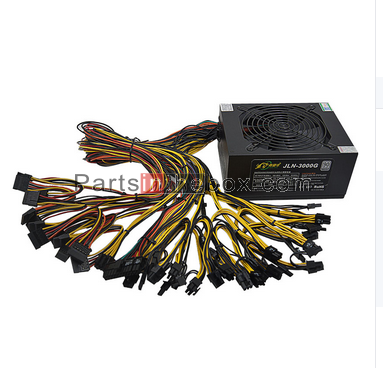 for ATX Ethereum PSU 2400W Platinum Ethereum Miner power