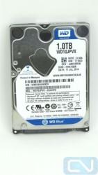 """WD Blue WD10JPVX 1TB 5400 RPM 8MB Cache SATA 6.0Gb/s 2.5"""" Hard Drive"""