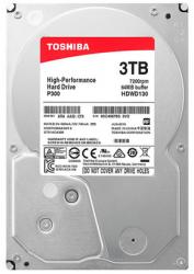 "for Toshiba 3TB HDD Desktop Computer Internal Hard Disk Drive P300 3.5"" 7200RPM 64M HDWD130AZSTA SATA3"