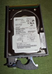 IBM iSeries 18GB SCSI Hard Drive Model 21P6856 AS400 Hotswap HDD