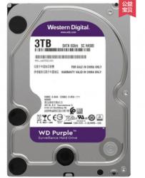 """WD30EJRX WD30PURX WD Brand Purple 3TB 3.5"""" SATA 6 Gb/s 64MB 5400RPM For Internal Hard Disk Surveillance HDD New HDD"""
