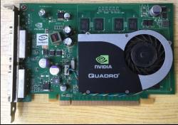 NVIDIA Quadro FX570 DDR2 PCI-E 2 DVI 256MB Dual DVI