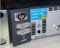 HP ProCurve J8692A 24-Ports Rack-Mountable Switch Managed HP 3500yl-24G