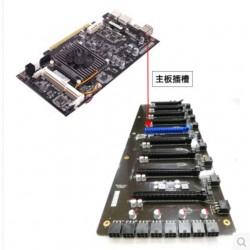 mining motherboard with 8+1 pcie slots C.J1900A-BTC Plus V20 C J1900A-BTC PLUS V20