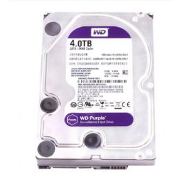 """WD40EJRX WD40PURX New HDD WD Brand Purple 4TB 3.5"""" SATA 6 Gb/s 64MB 5400RPM Internal Hard Disk Surveillance HDD"""