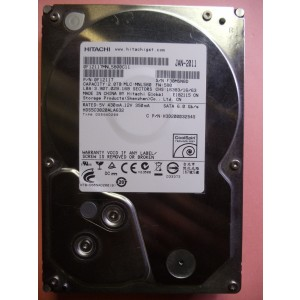 HITACHI HDS5C3020ALA632 2 TB PC HARD DRIVE P/N:0F12117 DATE:JAN-2011 SATA -0165