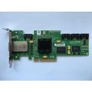 Original Pulled- 25R8071 LSI Logic SAS3444E 3Gb/s SAS RAID HBA PCI-E Card