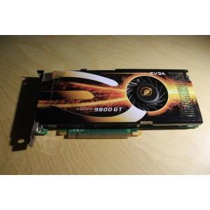 NVIDIA E-GEFORCE 9800GT 512MB PCI-E VIDEO CARD EVGA 512-P3-N976-AR