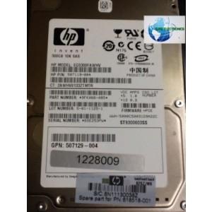 HP Hard Drive 618518-001 507119-004- 300GB 6G SAS 10K rpm 2.5'' DP