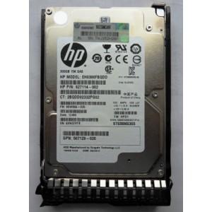 """Hard Drive HP 300Gb 15k RPM 2.5"""" 652611-B21 627117-B21 653960-001 627195-001"""