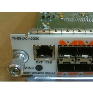 Cisco 76-ES+XC-40G3C 10GigE SFP XFP Line Card 20x1GE + 2x10GE