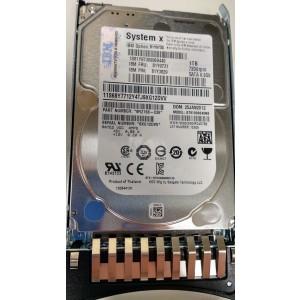 "IBM 1TB SATA 6Gbps 7.2K RPM 2.5"" Hard Drive 81Y9730 81Y9731 xSeries System X"