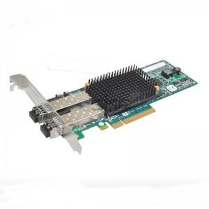 AH403A LPE12002 HP 8GB PCIe DUAL PORT HBA w/both bracket