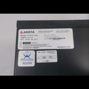 ARISTA BOXPC-240A FANLESS EMBEDDED COMPUTER CPU PROCESSOR 24V-DC 2.7A D551507