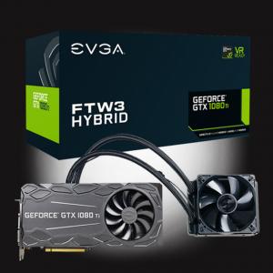 EVGA GeForce GTX 1080 Ti FTW3 HYBRID GAMING 11G-P4-6698-KR