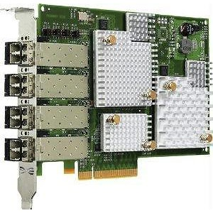 Emulex LPe12004-M8 QUAD Port 8Gb 8GBps Fibre Channel PCI-E Host Bus Adapter