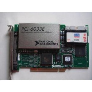 National Instruments NI PCI-6033E TESTED