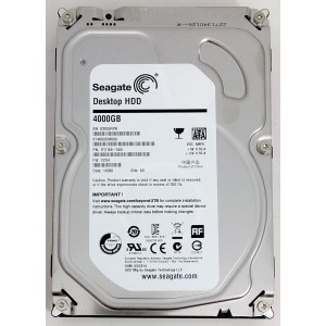 Seagate 4TB Desktop SATA 6Gbs 64MB Cache 3.5Inch Internal Bare Drive ST4000DM000